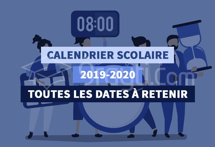 Calendrier Scolaire 20202019 A Imprimer.Calendrier De L Annee Scolaire 2019 2020 Au Maroc 9rayti Com